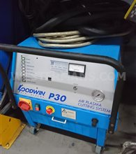 Goodwin P30 Manual Plasma Cutter with integral compressor