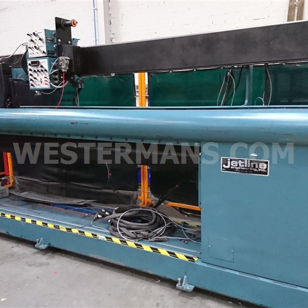 Jetline  LWS-120 Longitudinal Seam welder, 3050mm Tig/Plasma welding