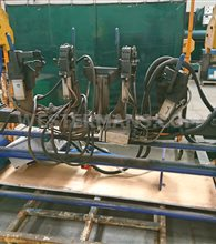 Head and Tail Stock Manual Trunnion Rollover System