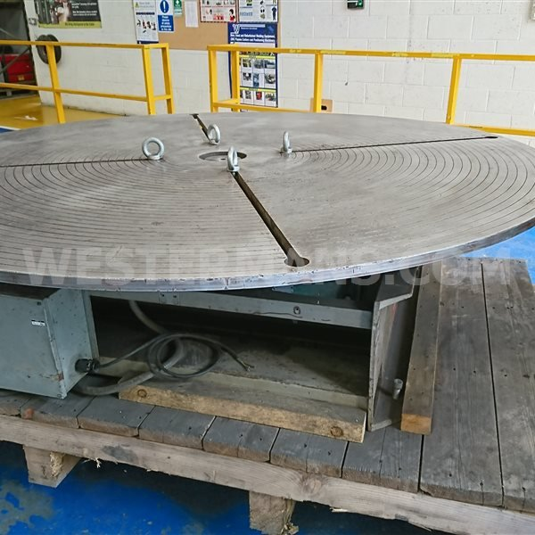 Bowers Horizontal Welding Positioner  5000kg