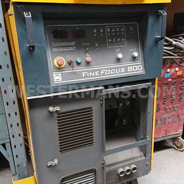 Kjellberg FINE FOCUS 800 Plasma Cutter, 80mm Cutting Thickness