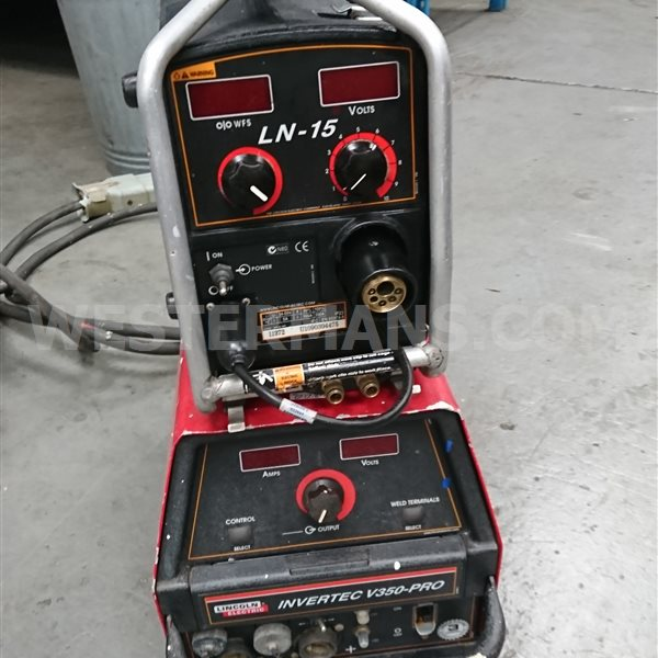 Lincoln Invertec V350-P MIG Welding Set