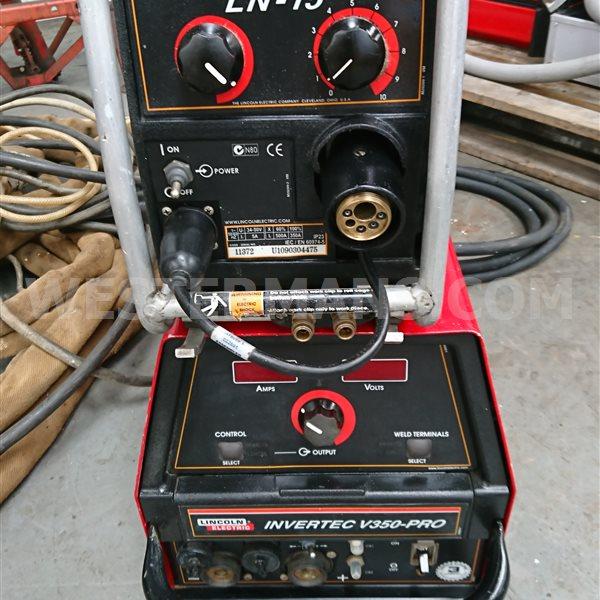 Lincoln Invertec V350-P MIG Welding Set