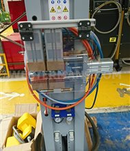 NEW Butt Welder for Joining Steel Rod and Bar End to End