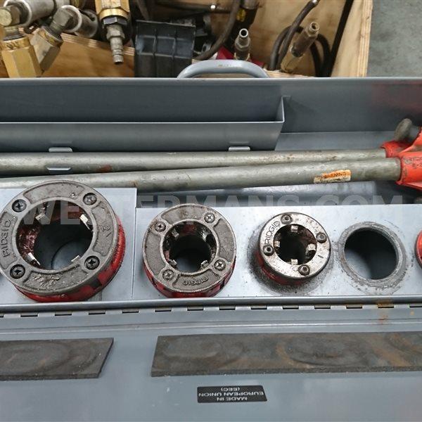 Ridgid 11R BSPT Enclosed Manual Ratchet Threader Set