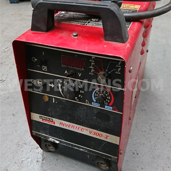 Lincoln V-300I MMA MIG or DC TIG Power Source wire feed units