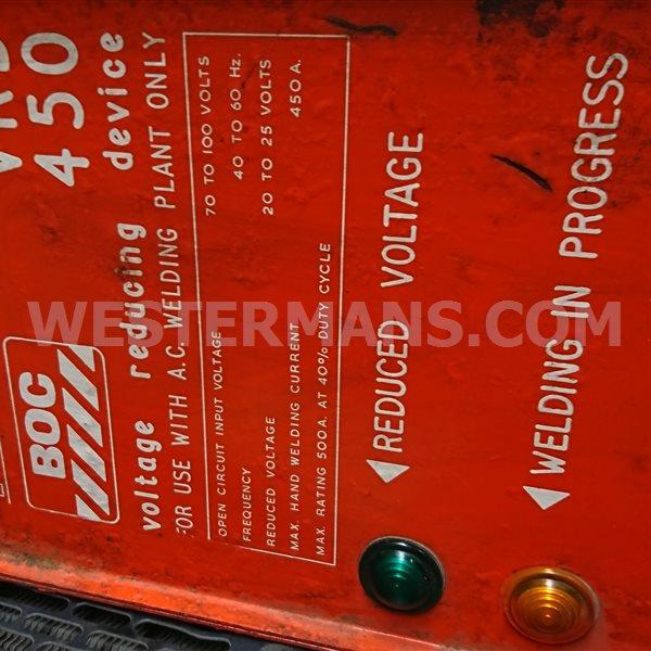 BOC VRD unit 450
