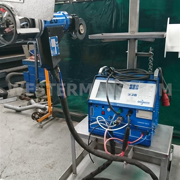 ORBIMAT Orbitalum  250C with unused P20 Tube to Sheet Plate Weld Head with Wire Feed