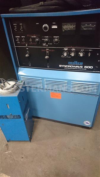 Miller Syncrowave 500 amp AC/DC Squarewave TIG Welding Machine