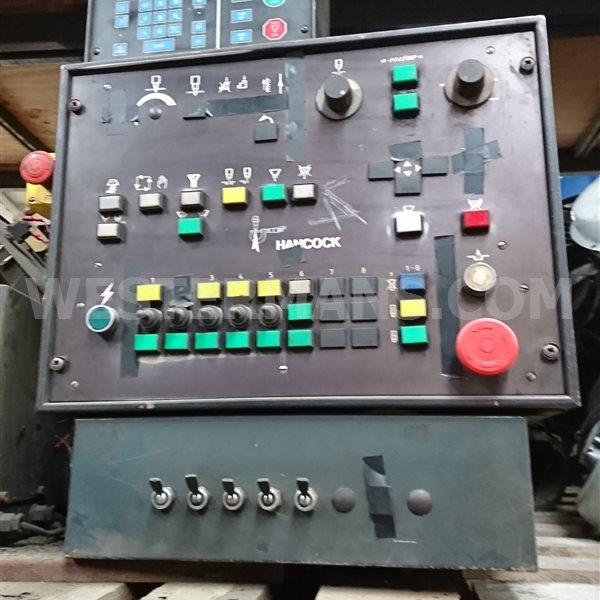 Hancock BOC ESAB  control unit with Burny 2.5 CNC
