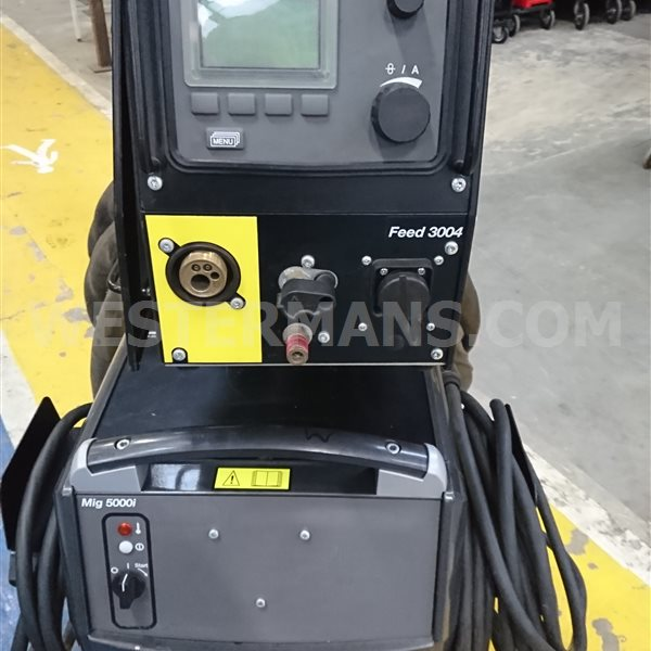 ESAB ARISTO 5000i Water Cooled MIG Welder with Aristo MA6 Controls