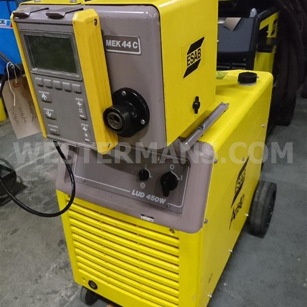 ESAB LUD 450 Synergic Mig welder with separate Wire Feed or dual feed