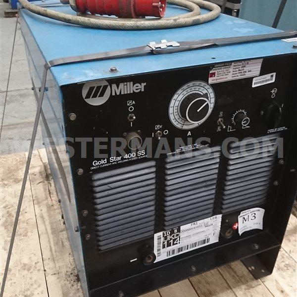 Miller Goldstar 400ss DC Power Source
