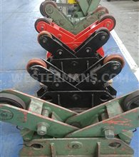 Bode Scissor  idlers  for pipe and vessel welding