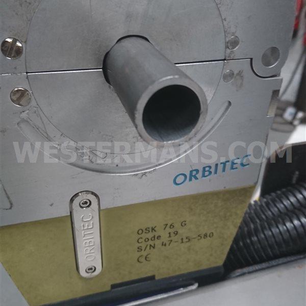 Orbitec TigTronic Orbital welder 4/3 Controller with closed head