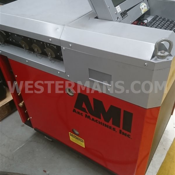 AMI 415 Orbital welding vision system & unused Model 81 WeldHead