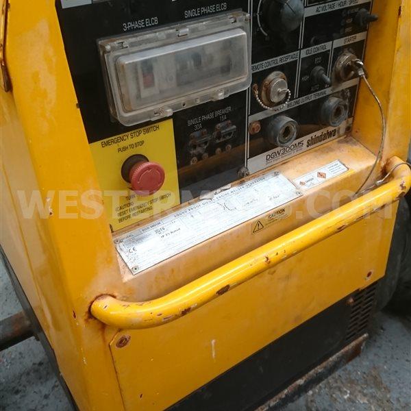 Shindaiwa ECO 300 Diesel Welder site Tow 300 AMP