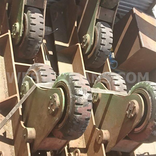Bode SAR 10 ton Self Aligning idler Welding Rotators