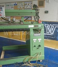 Bode 2-HSW 90/1000 Longitudinal Seam Welder with tig