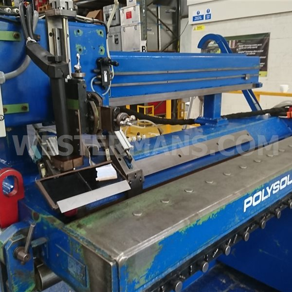 Bode HSW 90/1250mm Longitudinal Seam Welding machine