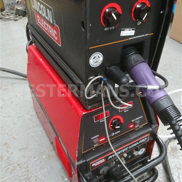 Lincoln LN25 pro Semi Automatic Wire Feed Unit for MIG Welding to Suit Most Diesel Welders or DC MMA Electric Power Source