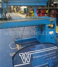 Bode HSW 100/1250mm Longitudinal Seam Welding machine with TIG welder