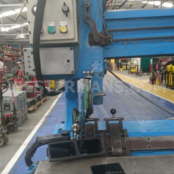 Bode HSW 100/1250mm Longitudinal Seam Welding machine with TIG welder