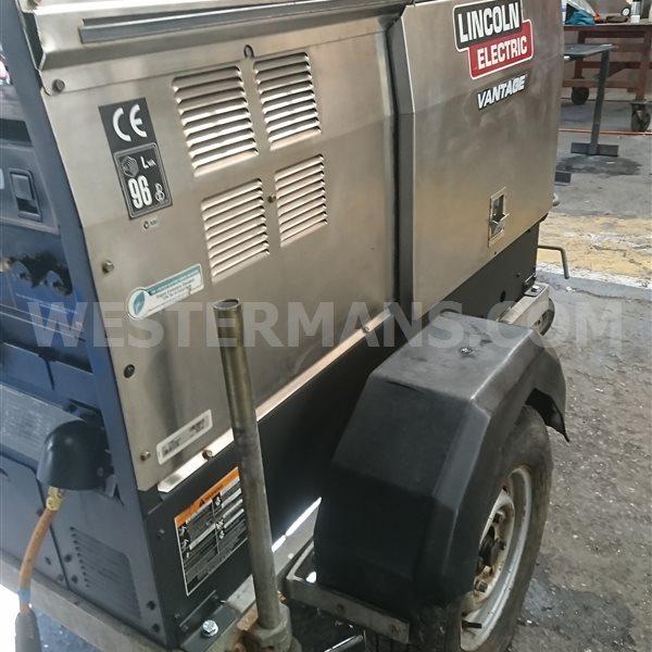 Lincoln Vantage 500 Diesel Welder Generator Power Source with Perkins Engine