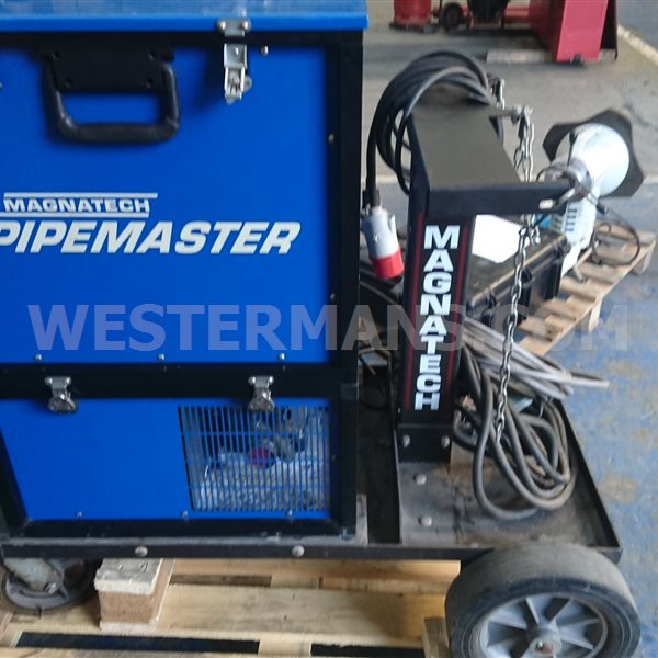 Magnatech Pipemaster with Orbital D-Weld Head