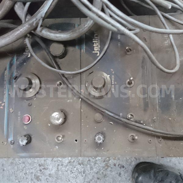 Jetline Controls for Seam Welding