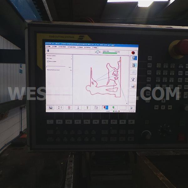 ESAB Suprarex SXE P4500 with 450 Precision m3 Plasma