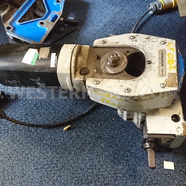 Orbitalum GF4 Orbital Pipe Cutting and Bevelling Machine