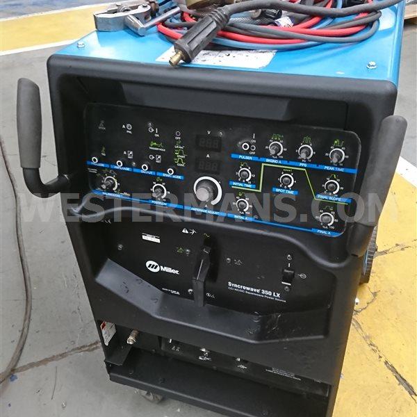 Miller Syncrowave LX350 AC/DC Squarewave TIG Welder water cooled