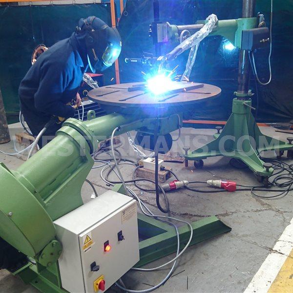 Bode 20/VHP 1000kg Rotilting Welding Positioner