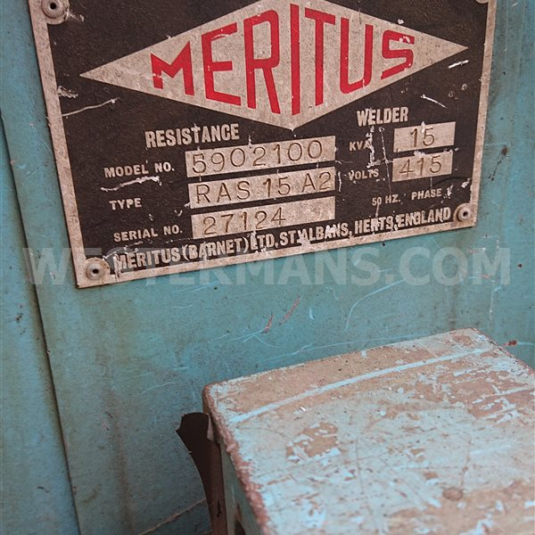 Meritus 15kva Pneumatic Spot welding machine