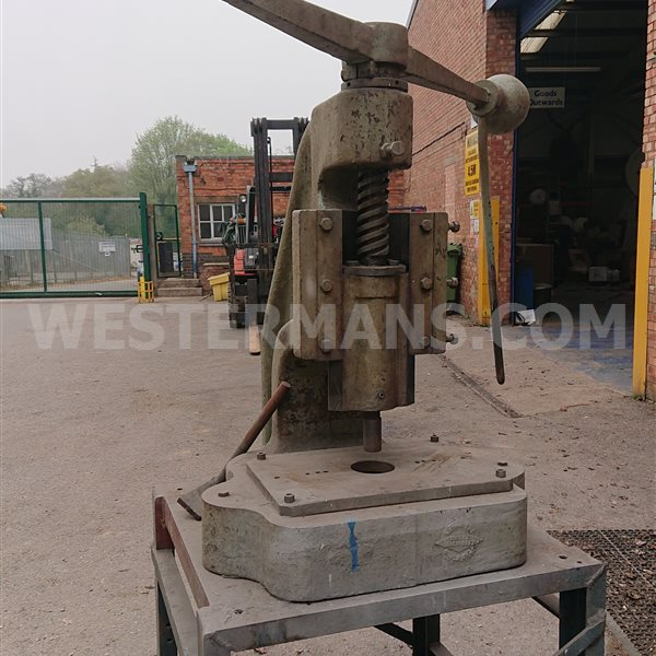Large fly press