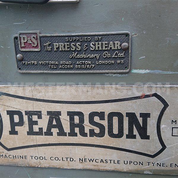 """Pearson 8 x .125"""" Guillotine"""