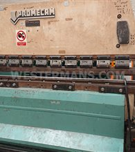 Promecam RG75 ton Press Brake with Light Guards