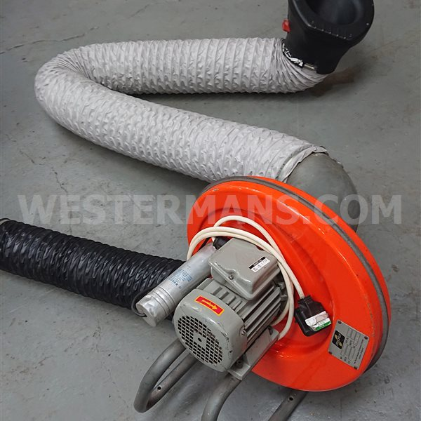 Nederman Snail with 2m arm 220 volts
