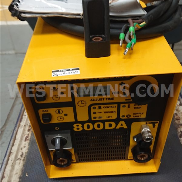 Taylor Stud Welding System 800 DA Stud Welding Machine with drawn arc hand tools