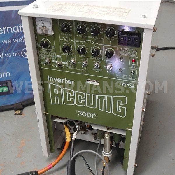 OTC Accutig 300P ac/dc Inverter TIG