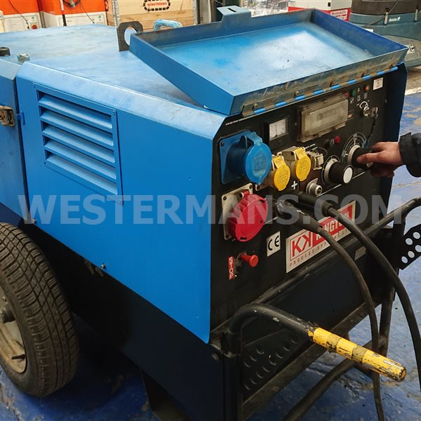 Mase diesel welder generator with 220 ,110 and 415 volts