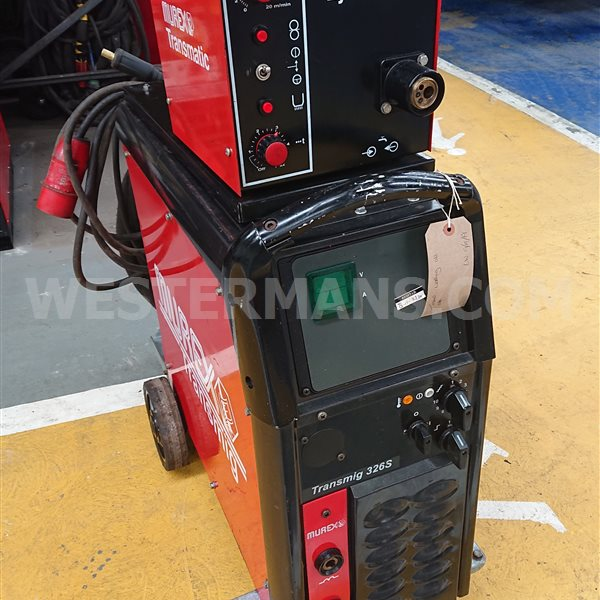 Murex 326s mig with murex 4 x 4 wire feed
