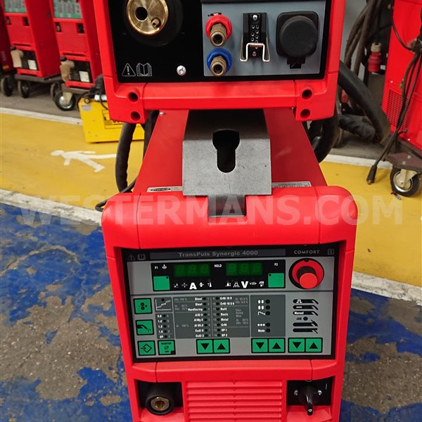 Fronius TransPuls Synergic 4000 MIG Welder water cooled