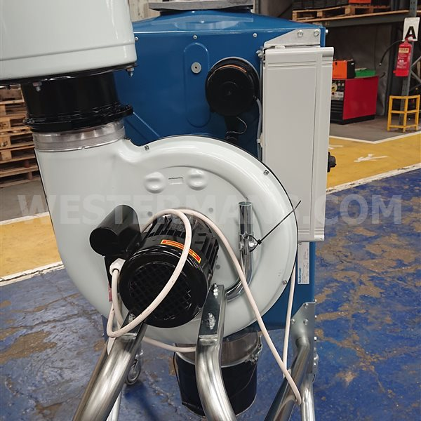 Nederman Filterbox Fume Extractor. Fully working and tested.