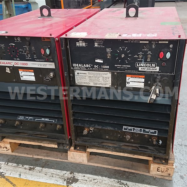 Lincoln Idealarc DC 1000 amp Welding Power Source Supply - Heavy duty