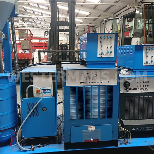 Air-liquide Lincoln Oerlikon CB-Matic LF tandem head subarc Column and Boom with ac/dc power source  AS NEW ex demo