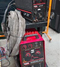 Lincoln STT  Mig Welder Fitted with separate LF37 Wire Feed Unit