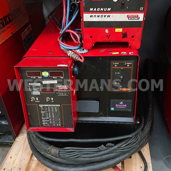 Lincoln powerwave 455 power source and water cooling