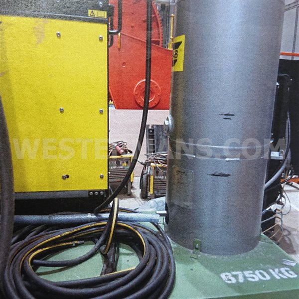 Bode Welding Column & Boom ESAB PEK subarc system
